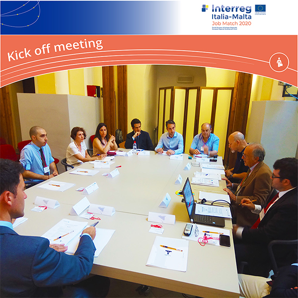 Job match 2020 - 3 Luglio 2018 – Kick off Meeting & First Meeting of the Steering Committee